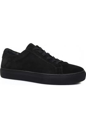 Collina 905/2 Siyah Süet Deri Erkek Ayakkabı