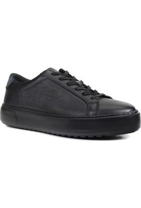 Collina 905 Siyah 05 Deri Erkek Ayakkabı