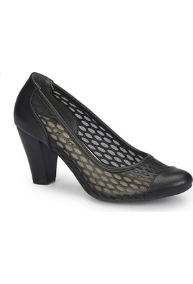 Polaris 81.308349.Z Siyah Kadın Gova Ayakkabı