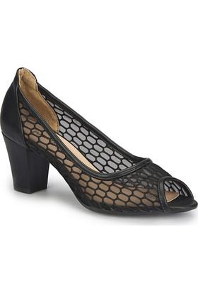 Polaris 81.308350.Z Siyah Kadın Basic Dress