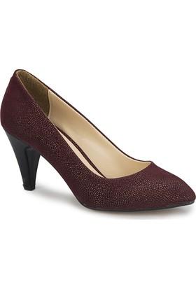 Polaris 81.309023.Z Bordo Kadın Ayakkabı