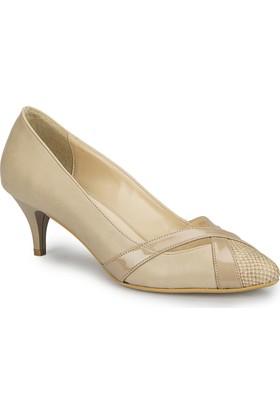 Polaris 81.311135.Z Krem Kadın Ayakkabı