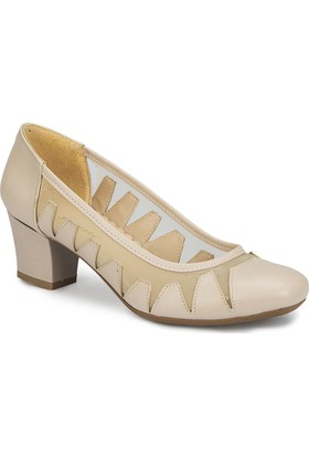 Polaris 81.311171.Z Bej Kadın Ayakkabı