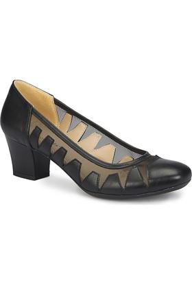 Polaris 81.311171.Z Siyah Kadın Ayakkabı