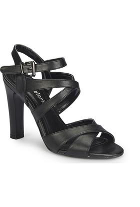 Polaris 81.311218.Z Siyah Kadın Sandalet