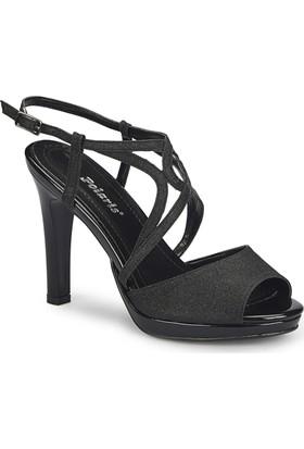 Polaris 81.311222.Z Siyah Kadın Ayakkabı