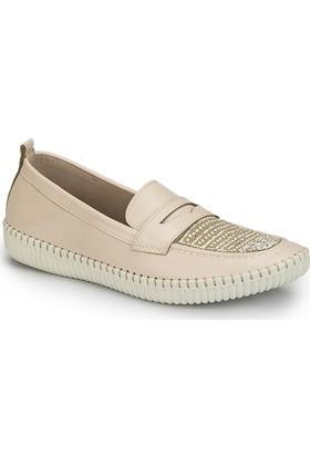 Polaris 81.311383.Z Bej Kadın Ayakkabı