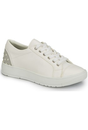 Polaris 81.311411.Z Beyaz Kadın Ayakkabı