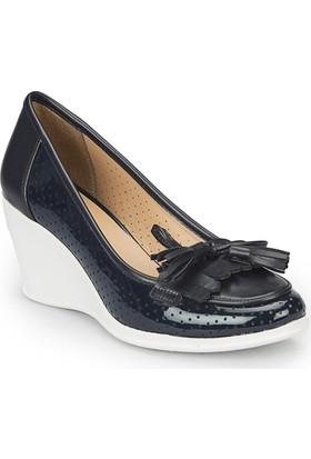 Polaris 81.311466.Z Lacivert Kadın Ayakkabı