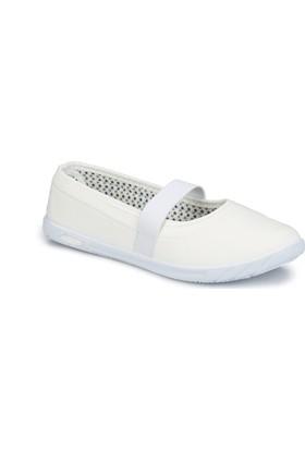Polaris 81.311582.Z Beyaz Kadın Ayakkabı