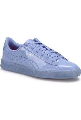 Puma Basket Patent Iced Glıtte Lila Kadın Sneaker