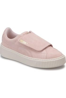 Puma Suede Platform Strap Pembe Kadın Sneaker