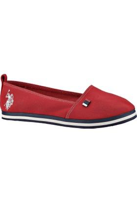 U.S. Polo Assn. 298062 Kırmızı Kadın Ayakkabı