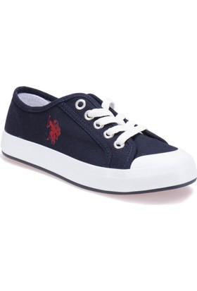 U.S. Polo Assn. A3352297 Lacivert Kadın Sneaker