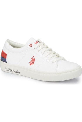 U.S. Polo Assn. Scott Beyaz Kadın Sneaker