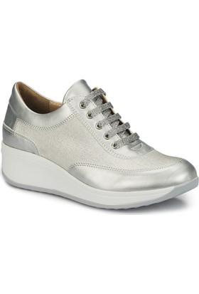 Polaris 81.311390.Z Gümüş Kadın Ayakkabı