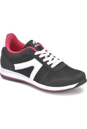 Torex Alden W Siyah Beyaz Kadın Sneaker