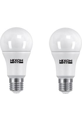 Nixon Led Ampul 2Li Paket 11W=(75W) 6500K 1060Lm Beyaz Işık E27