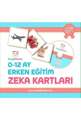 SevgiliBebek 0 - 12 Ay Zeka Kartları Seti (Türkçe - İngilizce)