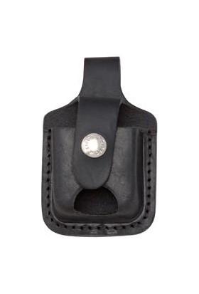 Zippo Lighter Pouch Black Notch Çakmak Taşıma Kılıfı