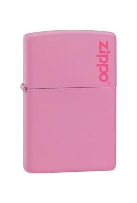Zippo 238 Zippo Logo Pink Çakmak