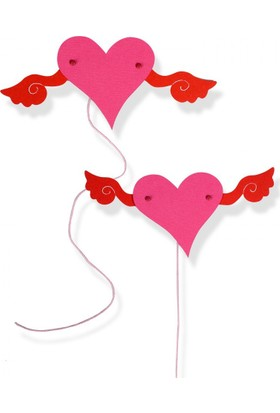 Sizzix Parçalı Kalp Kalıbı