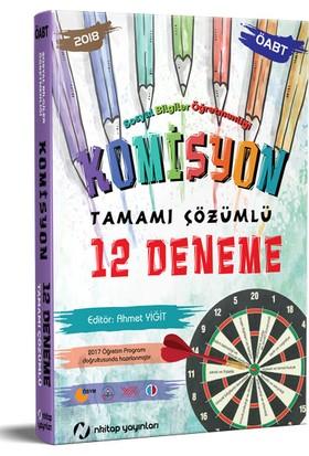 Nkitap Yayınları ÖABT Sosyal Komisyon Tamamı Çözümlü 12 Deneme