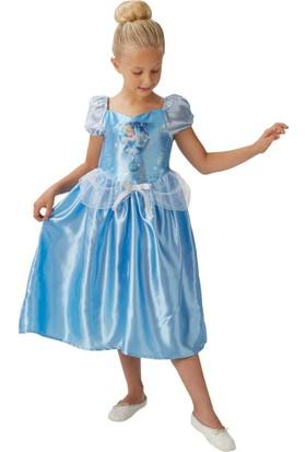 Lisanslı Disney Princess Cindirella Mavi Kostüm 2L Beden 7-8 Yaş