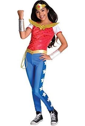 Lisanslı Dc Wonder Woman Kostüm M Beden 5-7 Yaş