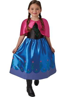 Lisanslı Disney Princess Anna Kostüm M Beden 5-6 Yaş