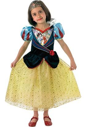 Lisanslı Disney Princess Pamuk Prenses Sarı Kostüm L Beden 7-8 Yaş