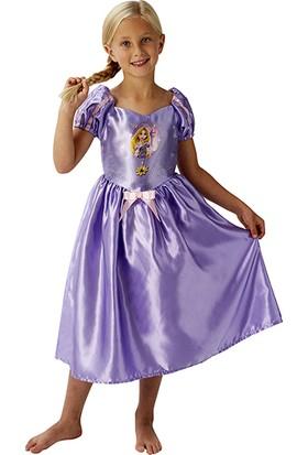 Lisanslı Disney Princess Rapunzel Mor Kostüm M Beden 5-6 Yaş