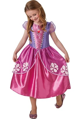 Lisanslı Disney Princess Sofia Mor Kostüm M Beden 5-6 Yaş