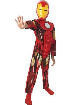 Lisanslı Iron Man Kostüm S Beden 3-4 Yaş