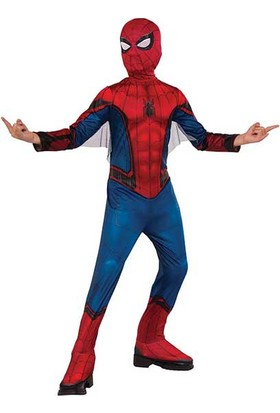 Lisanslı Spiderman Kostüm M Beden 5-7 Yaş