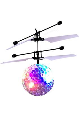 Lojixx Renki Işıklı Uçan Top Helikopter Sensörlü Şarjlı