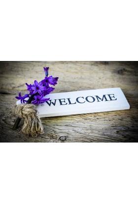 Mats Dekoratif Paspas 40X70 Welcome