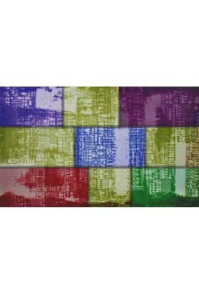 Mats Dekoratif Paspas 40X70 Renkli Taşlar