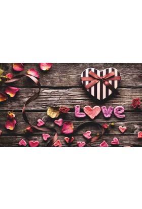 Mats Dekoratif Paspas 40X70 Love