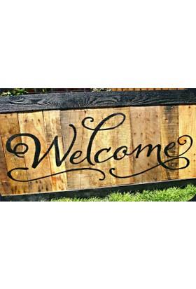 Mats Dekoratif Paspas 40X70 Welcomee