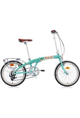 Bianchi Folding Vintage Katlanır Bisiklet 2018 Model