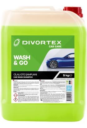 Divortex Wash & Go Oto Şampuanı 5 Kg.