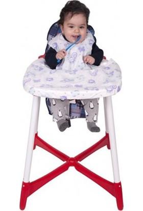 Sevi Bebe 264 Kullan At Kollu Mama Sandalyesi Önlüğü 5'li