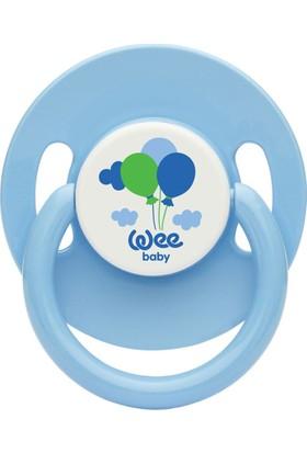 Wee Baby 855 Yuvarlak Gövdeli Yuvarlak Uçlu Emzik No:1