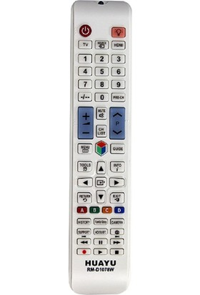 Samsung Rmd 1078 Üniversal Beyaz Kumanda