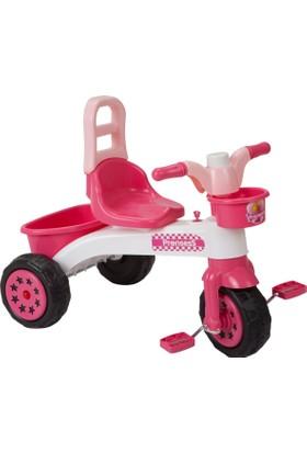 Güçlü Şeker Plastik Bisiklet Prenses