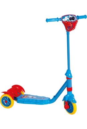 Güçlü Güçlü Frenli Scooter 3 Tekerlekli