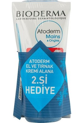 BIODERMA Atoderm Hand & Nail Cream 50 ml El Kremi ALANA 2. ÜRÜN HEDİYE