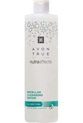 Avon True Nutra Effects Tüm Cilt Tipleri İçin Temizleme Suyu 400 ml