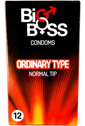 Big Boss Prezervatif Normal Tip Condom